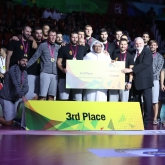 Vardar with the Super Globe bronze in Qatar