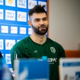 "Djeric: ""I hope that we will continue to play like this"""
