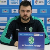 "Neven Stjepanovic: ""We were able to rotate more which eventually helped us seal the deal"""